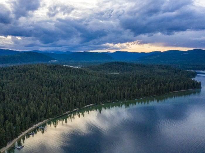 Peaceful reflections at Priest Lake. Photo Credit: Idaho Tourism.