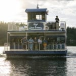 Unwind on a Lake Coeur d'Alene Cruise. Photo Credit: Idaho Tourism.
