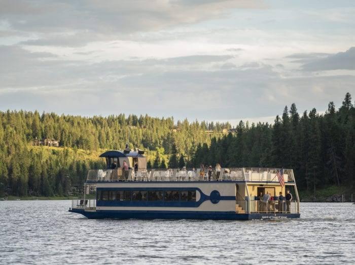 Take advantage of breathtaking views of Lake Coeur d'Alene. Photo Credit: Idaho Tourism.