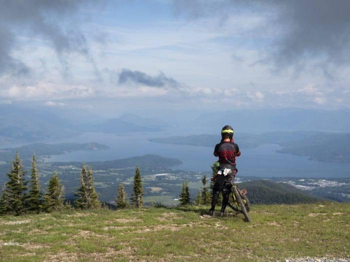 Mountain Biking at Schweitzer Mountain Resort. Photo Credit: Idaho Tourism.