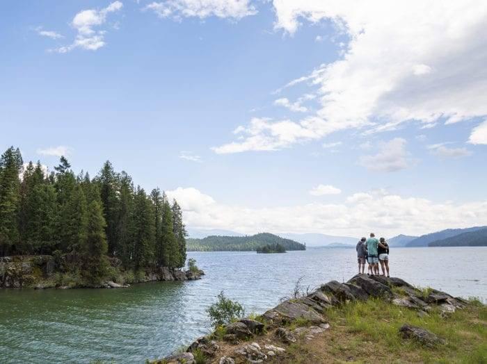 Majestic views of Priest Lake. Photo Credit: Idaho Tourism.