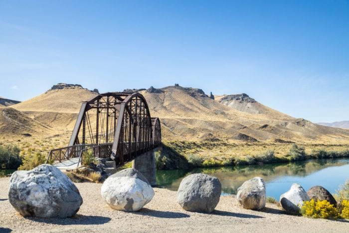 historic railroad bridge celebration park