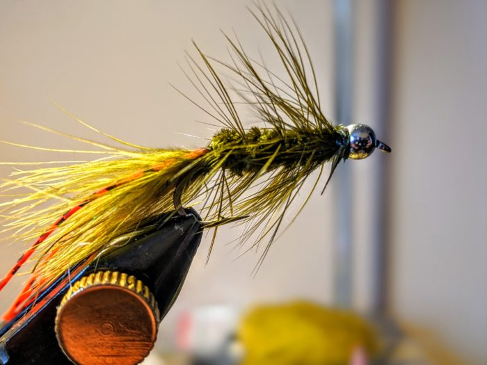 woolly booger fly tie
