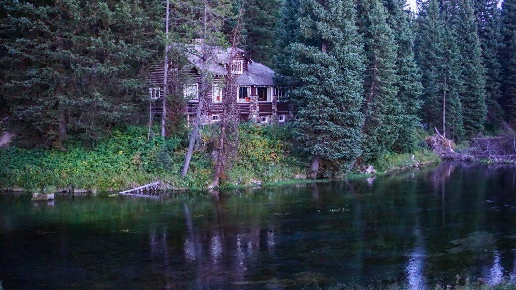 cabin near spring