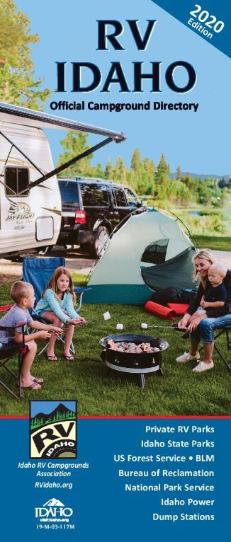 RV Idaho Campground Directory Cover