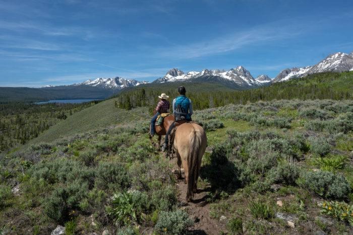 horseback riding near Stanley