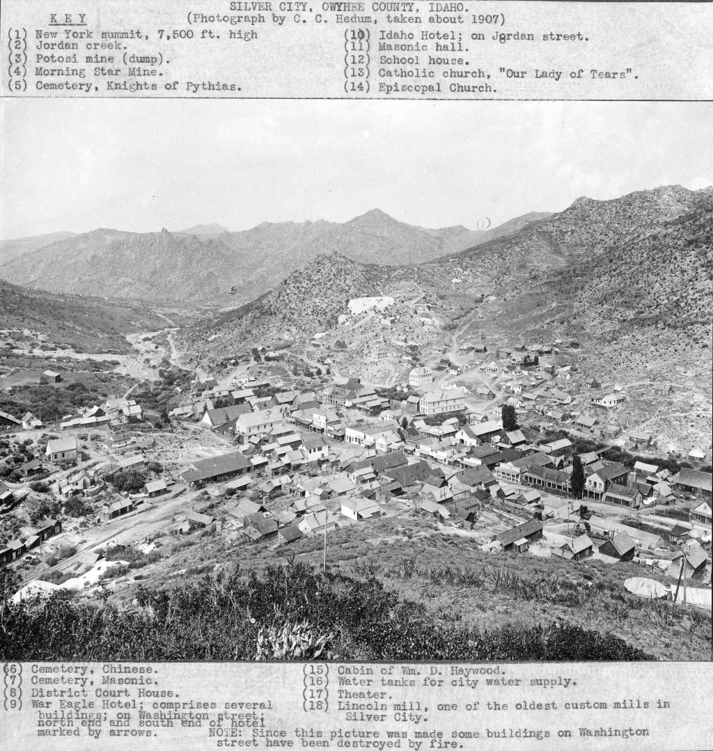 historical photo of silver city