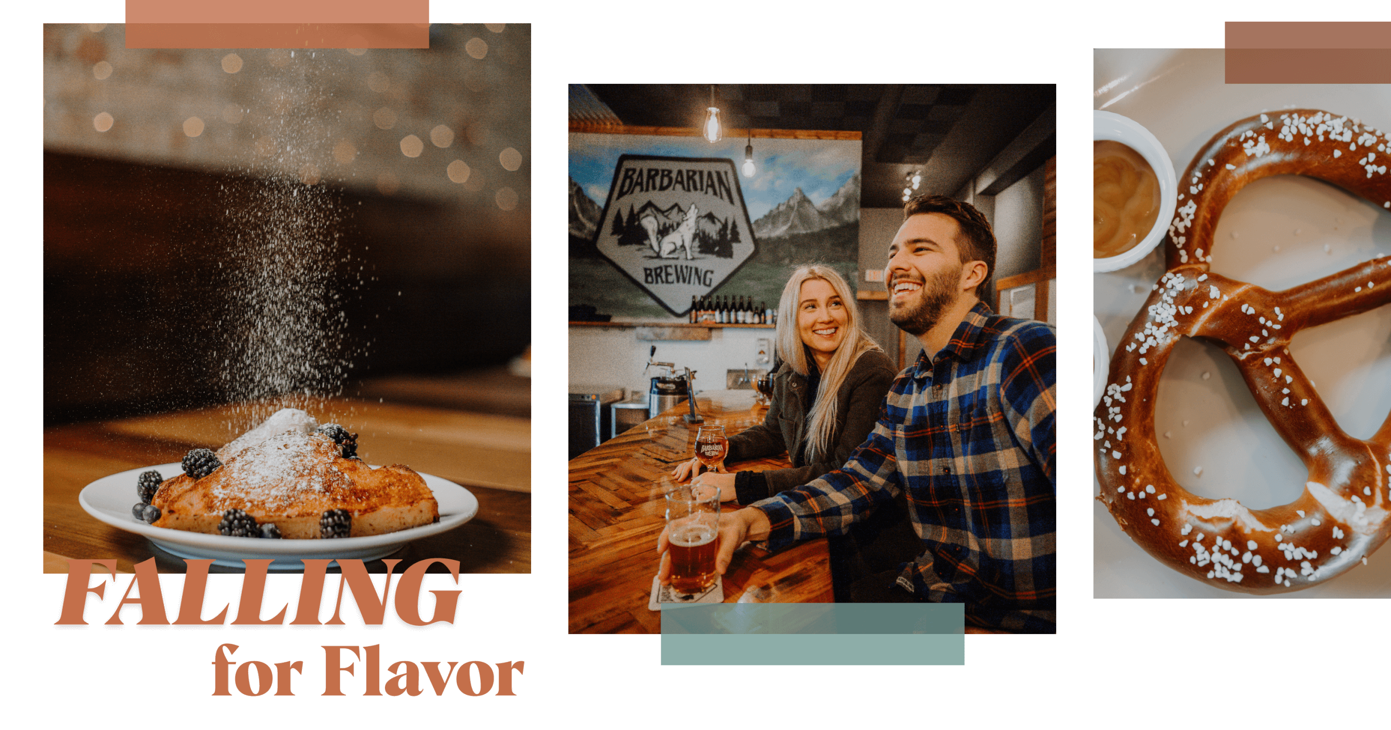 falling for flavor transparent graphic
