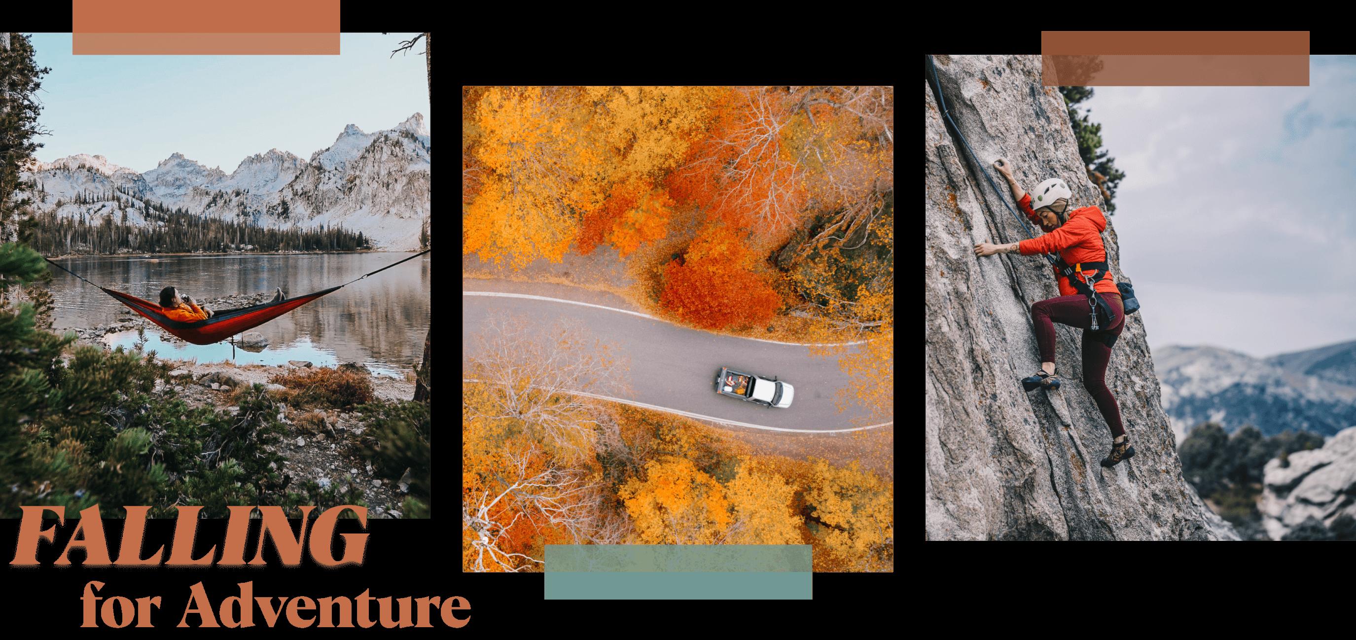 falling for adventure transparent graphic